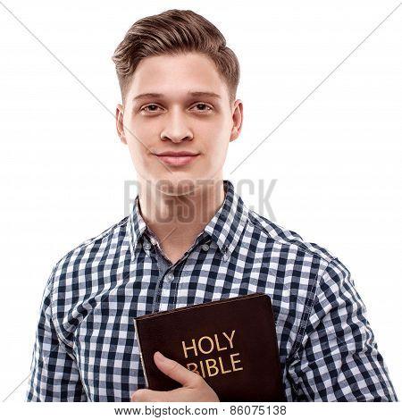 Happy Religious Man