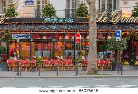 Paris. Boulevard Montparnasse.