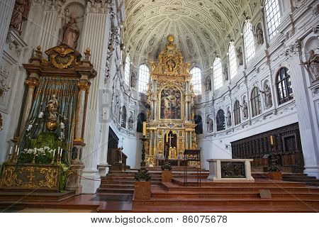 Saint Michael Cathedral Cathedral (munich) Interior