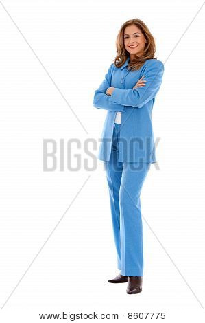 Fullbody Business Woman