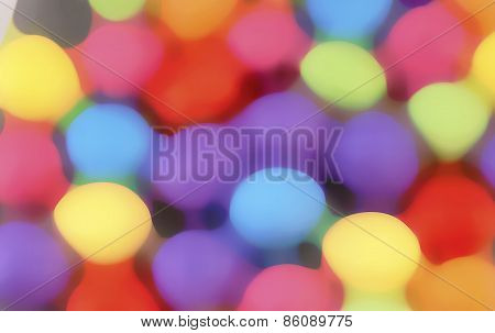 Mini Eggs background blur Illustration
