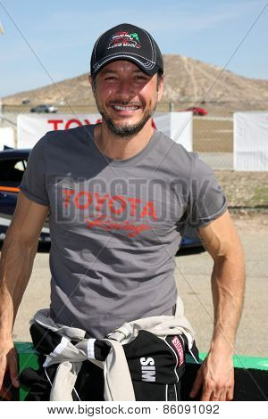 LOS ANGELES - FEB 21:  Raul Mendez at the Grand Prix of Long Beach Pro/Celebrity Race Training at the Willow Springs International Raceway on March 21, 2015 in Rosamond, CA