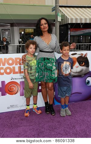 LOS ANGELES - FEB 22:  Garcelle Beauvais at the