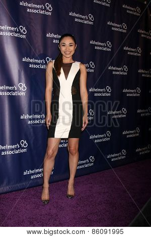 LOS ANGELES - MAR 18:  Jessica Sanchez at the 23rd Annual A Night at Sardi's to benefit the Alzheimer's Association at the Beverly Hilton Hotel on March 18, 2015 in Beverly Hills, CA
