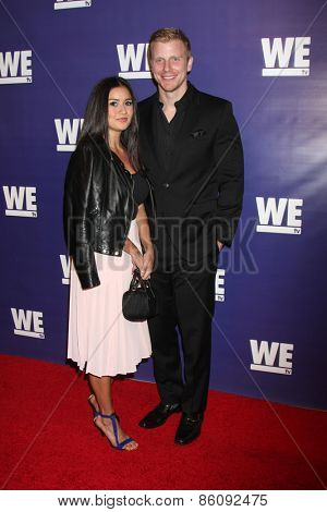 LOS ANGELES - MAR 19:  Catherine Lowe, Sean Lowe at the WE tv Presents