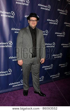 LOS ANGELES - MAR 18:  Josh Gad at the 23rd Annual A Night at Sardi's to benefit the Alzheimer's Association at the Beverly Hilton Hotel on March 18, 2015 in Beverly Hills, CA