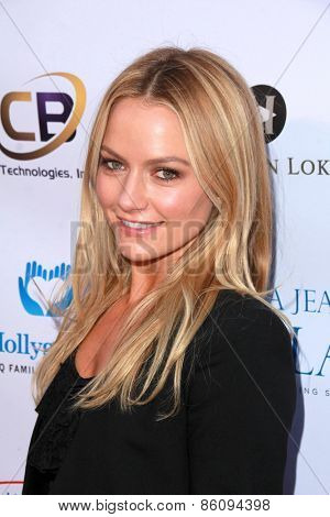 LOS ANGELES - MAR 18:  Becki Newton at the Norma Jean Gala at the Taglyan Complex on March 18, 2015 in Los Angeles, CA