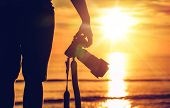 image of sunny beach  - Sunset Photography - JPG