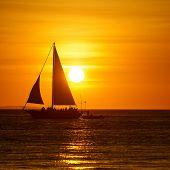 image of boracay  - Beautiful sunset at Boracay Philippines - JPG
