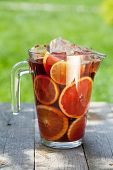 foto of refreshing  - Refreshing fruit sangria  - JPG