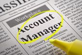 picture of accountability  - Account Manager Vacancy in Newspaper - JPG