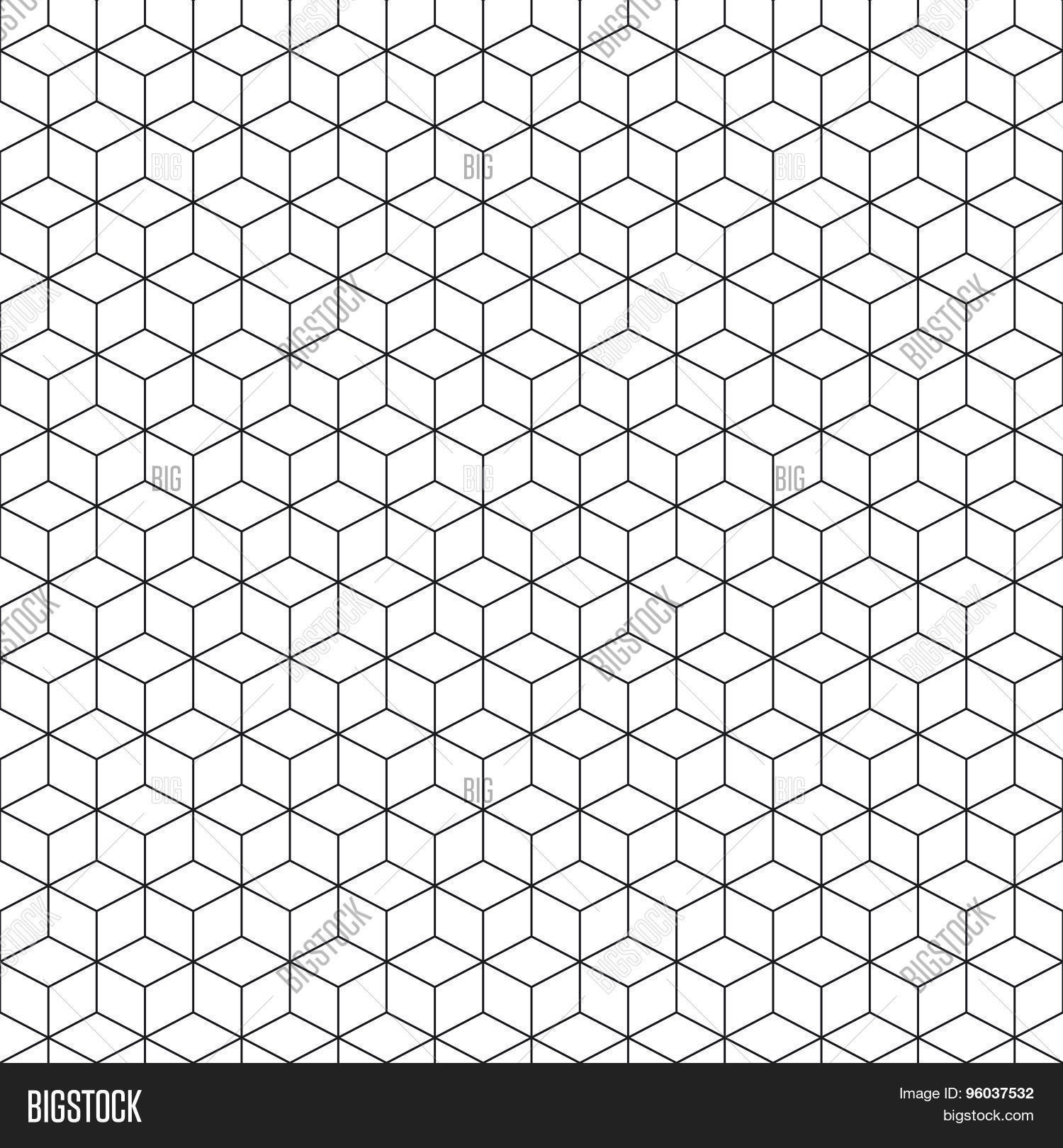 pattern cube background abstract vector  u0026 photo