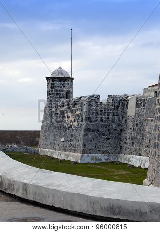 Cuba. Old Havana. Castillo de la Real Fuerza