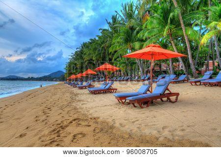 Tropical resort panoram