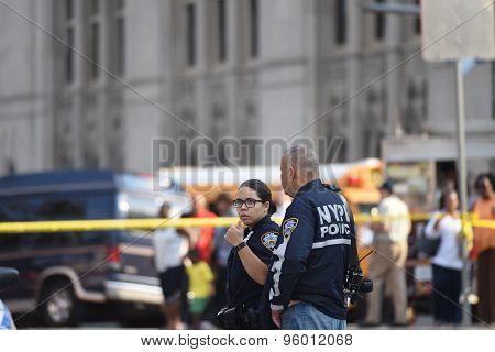 NYPD collision investigators