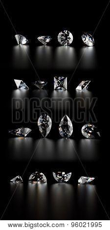 Gemstone. Jewelry background