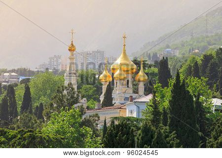 Cathedral Of St. Alexander Nevsky. Yalta, Crimea