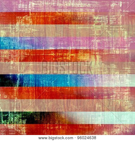 Abstract grunge background of old texture. With different color patterns: brown; blue; pink; red (orange)