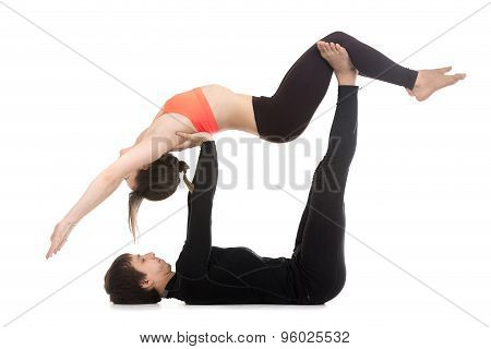Acroyoga, High Flying Whale