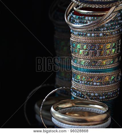 Lot Of Various Jewelry Bracelets
