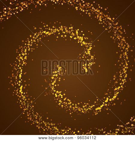 Magic Christmas Spell Sparkle Background