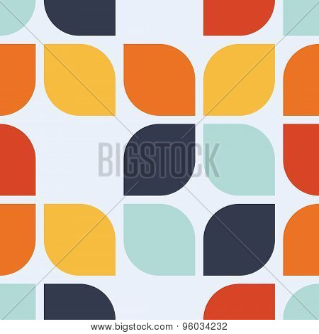 Seamless Geometric Vintage Vector Illustration