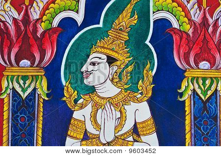 Thai Style Painting