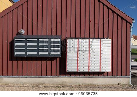Letterbox Wall