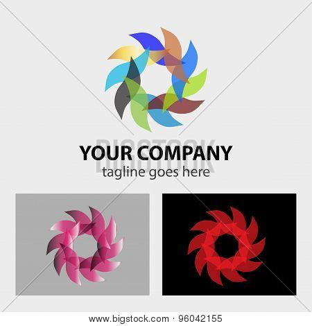 Logo design elements set  vector design illustration template