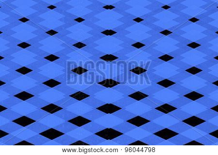 Abstract Diamond Pattern