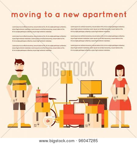Move to a new apartment.