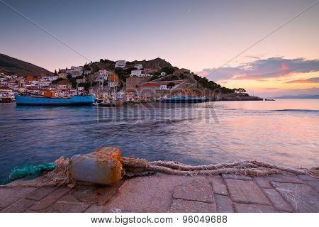 Hydra island.