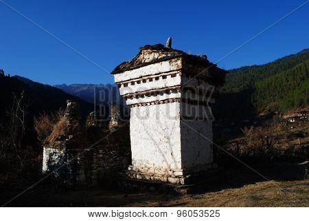 Bhutanese Chorten Stupa
