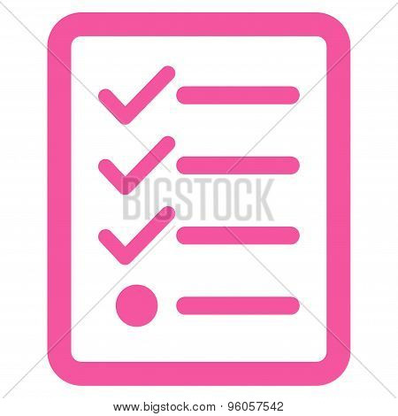 Checklist icon from Business Bicolor Set