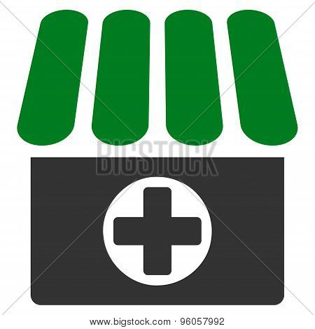 Drugstore icon from Business Bicolor Set
