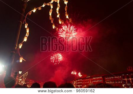 Fireworks For Event In Italy