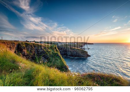 Port Gaverne In Cornwall