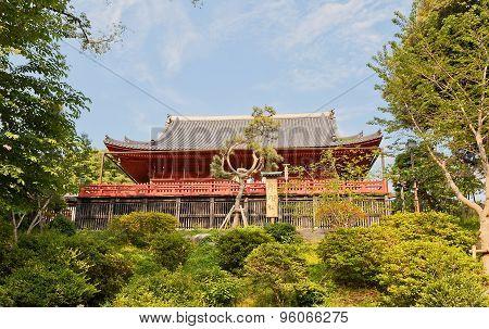 Kiyomizu Kannon Temple In Ueno, Tokyo, Japan