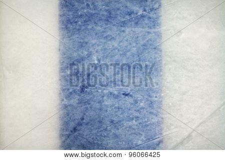 Ice Hockey Rink Blue Line