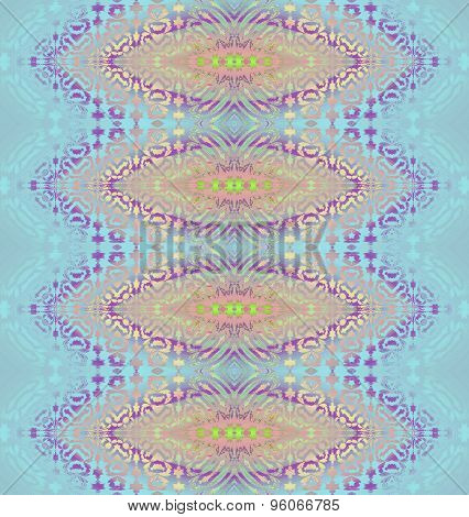 Seamless pattern blue pink