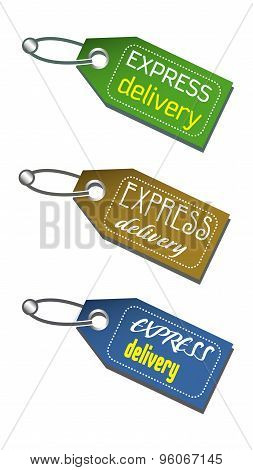 Express delivery tags