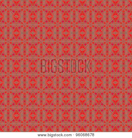 Seamless pattern red gray