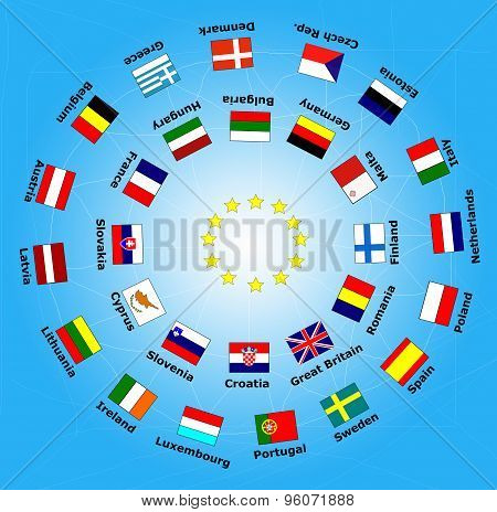 28 Flag Of European Union Country Flag And Cooperation