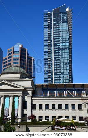 Downtown Vancouver building