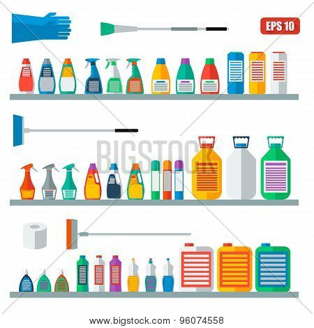 Accessories for cleaning company