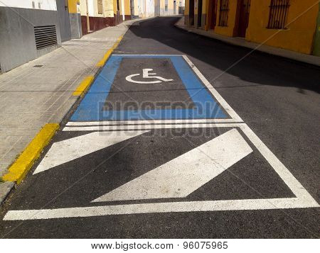 Disability Parking Place