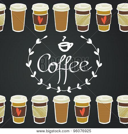 Coffee Bottom Borders