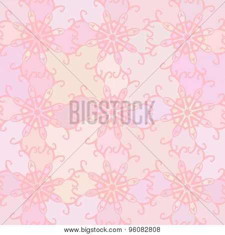 Abstract vector background Seamless ornamental texture