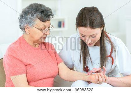 Patient's pulse