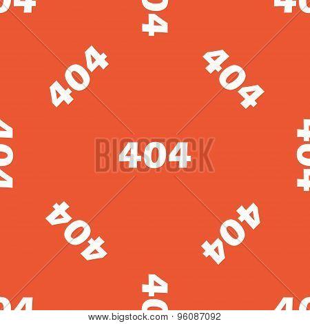Orange error 404 pattern